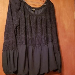 Black lace top brand new